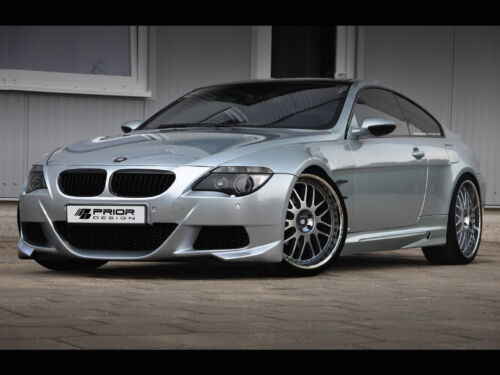 Bmw E63/e64 6 Series And M6 Full Body Kit 645i, Front + Rear Bumper Side Skirts