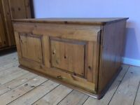 DUCAL Pine Storage Top Box for Wardrobe - Excellent Condition