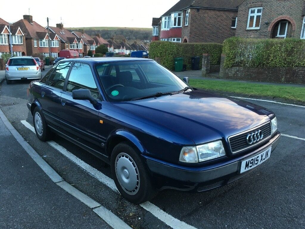 1995 Audi 80 - 81k miles 10mths MOT Really original classic with very low mileage