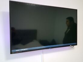 Technika 40 Inch TV with LED strip