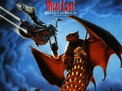 Meat Loaf Bat Out Of Hell 3 Rock Music Iron On Tee T-Shirt Transfer A5