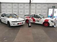 Race And Track Car Hire at Kirkistown Race Circuit, Track Car, Race Car, Rally
