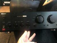 Sony vintage amp