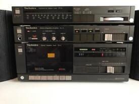 Technics Vintage Hi-Fi units with Arision speakers