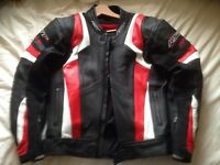 RST Blade Leather Motorcycle Jacket UK 42