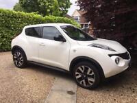 White NissanJuke DCI N-TEC 1.5 5dr £8195.00