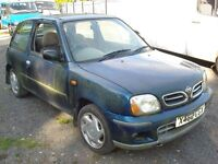 """Nissan Micra 2000 on a """"X"""" Plate"""