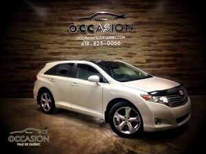 2009 Toyota Venza V6 AWD CUIR TOIT PANORAMIQUE