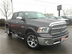 2017 Ram 1500 *LARAMIE*CREW*DEMO W/ ONLY 1344 KMS ON THE CLOCK