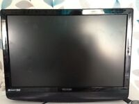 Technika 22inch TV. With DVD on Side. Excellent quality. Full controls on tv + remote.