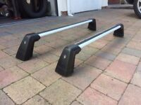 Genuine OEM Mercedes Roof rails bars, aluminium, lockable, fit A and B Class to 2011