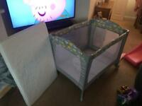 Mothercare sweet dreams travel cot