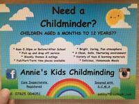 Need a Registered childminder???