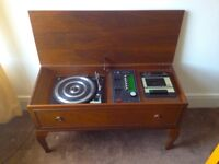 Vintage Radiogram in Stag Minstrel furniture