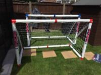 Brand new Samba match goal set. 2 goals