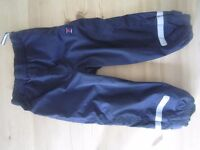 Polarn O.Pyret Navy Over trousers