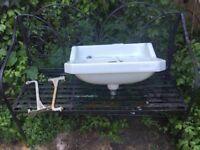 Victorian/Edwardian Bathroom Sink.