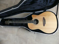 Ovation CC24S with Hard Case - Electro / Acoustic Guitar (Reduced)