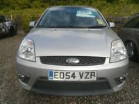 FORD FIESTA 2.0 ST 3dr MOT SEPT 2018, BLACK LEATHER, CD PLAYER. WORTH A LOOK (silver) 2004