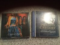 Books on cd Philippa Gregory, Alison weir, a midsummer murder Ian rankin, bill Bryson, Oliver twist