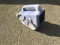 Plastering roughcasting Tyrolean flicker box