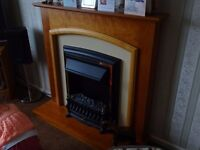 B&Q Electric fire and surround £40ono Excellent condition