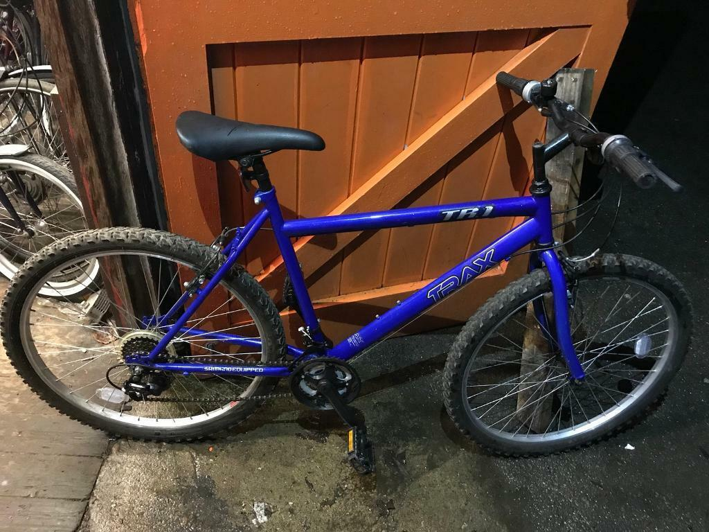 Trax TR1 Mountain bike. Fully Serviced. Excellent Condition. Free Lock, Lights & Local Delivery.