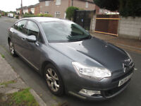 2008 Citroen C5 mot march with no advisories, 107100 warranted miles drives superb with no faults
