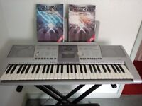 Yamaha Keyboard, 135 Styles 487 Voices, inc. Stool and Stand