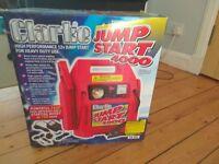 Jump Start 4000 12v jump start for heavy duty use