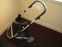 mamas and papas zoom pushchair chassis with adapters for car seat