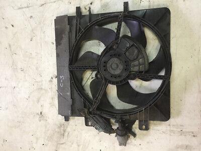 Citroen C3 2005 Diesel Radiator cooling fan shroud 9652396280 50kW SBR3152