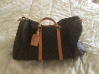 LOUIS VUITTON HOLD-ALL - AUTHENTIC ITEM