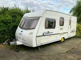 Caravan for sale:- Lunar Quasar 524 2004 4 birth end washroom