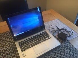 Asus Transformer TP300 flip laptop / tablet - i3 / 4g / 500GB