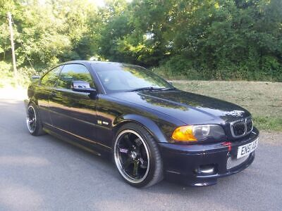 bmw e46 325 supercharged m sport (low reserve)