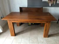 Solid Wood Teak Dining Table