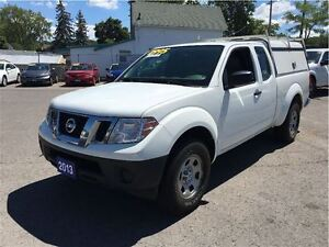 2013 Nissan Frontier S,Ext. Cab, with Rear Seats