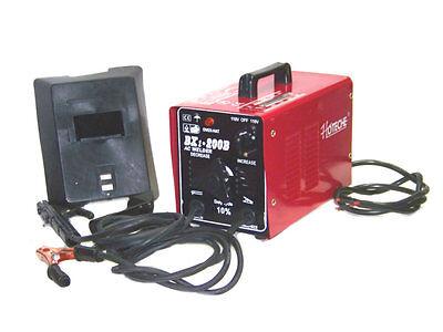 Arc Welder Machine Rod Welding 200amp 110 Volt Ac Tools Arc 200 Stick