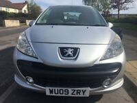 Peugeot 207 1.4 petrol, in Silver with long MOT until February 2019.