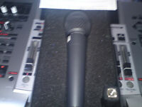 Brand new and unused Berhringer Mic plus cable.