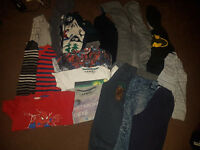 Large bundle of boys clothes 4/5 years