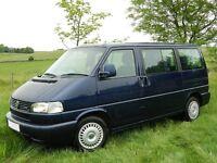 WANTED Volkswagen T4 T5 Caravelle Transporter Multivan Kombi Camper van Campervan VW for sale