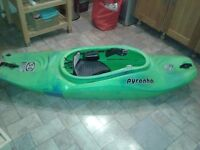 Pyranha s6 kayak 190