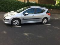 Peugeot 207.automatic. 2008 .with 3 month mot and tax