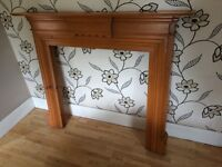 TRADITIONAL WOODEN FIRE SURROUND