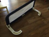 Used folded bed guard