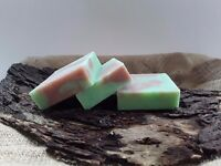 Natural organic handmade soap.Pear and ginger scent. (3×100gms)