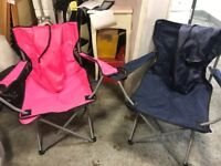 X2 Outdoor folding Camping Chairs