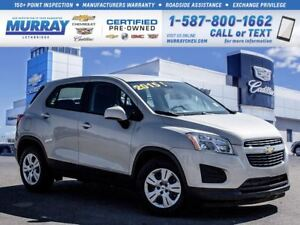 2015 Chevrolet Trax LS**One Owner!  Front Bucket Seats!**